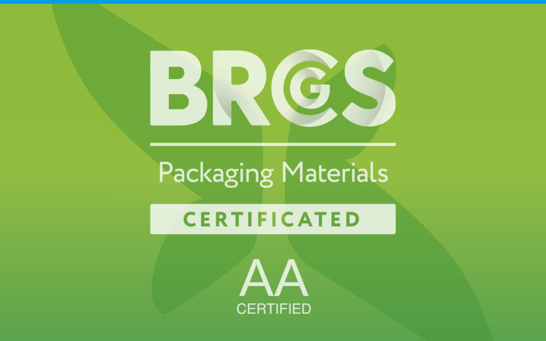 Pakway Achieve BRCGS Standard, AA certification for Packaging Material